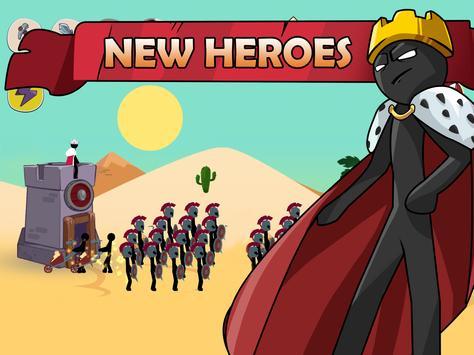 Stickman War Legend of Stick screenshot 17
