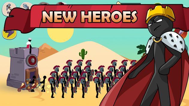 Stickman War Legend of Stick screenshot 1