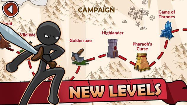 Stickman War Legend of Stick screenshot 6
