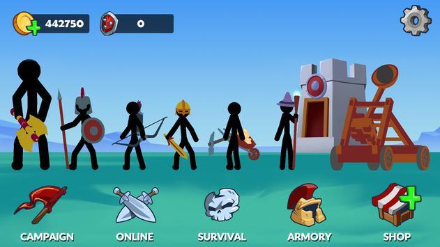 Stickman War Legend of Stick screenshot 7