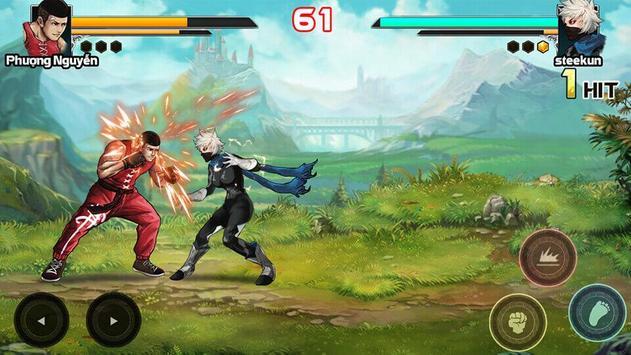 Mortal battle:  Permainan pertempuran syot layar 2