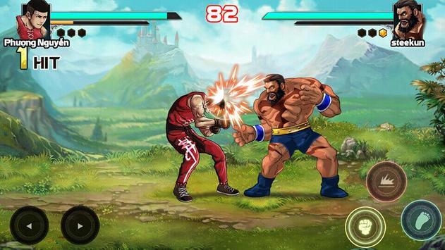 Mortal battle:  Permainan pertempuran syot layar 3