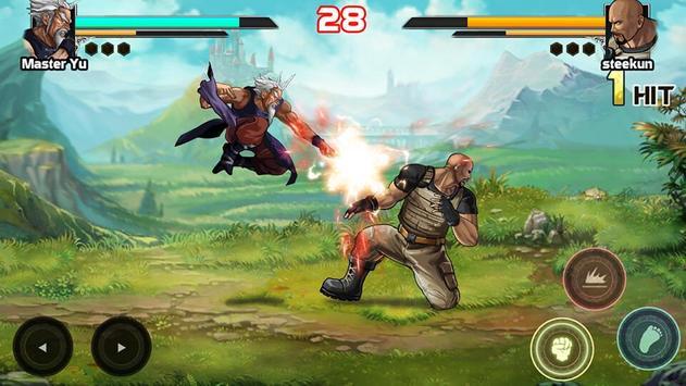 Mortal battle:  Permainan pertempuran syot layar 4