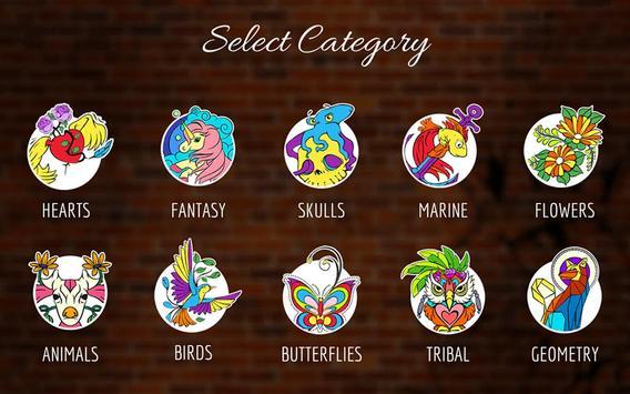 Fab Tattoo Design Studio capture d'écran 4