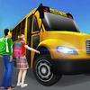 Super High School Bus Simulator und Auto Spiele 3D Zeichen