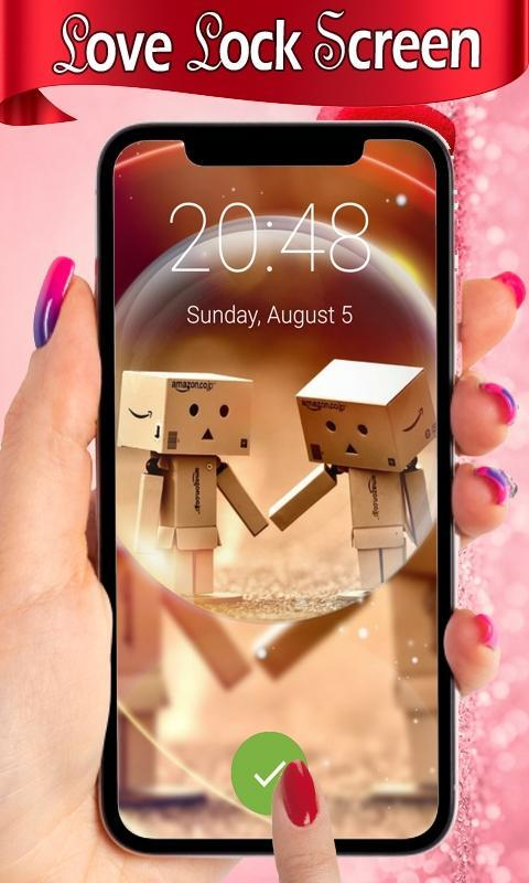 Love Lock Screen Hd Love Hearts Wallpapers Pattern For Android