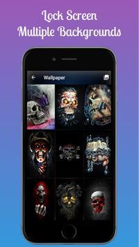 Skull Lock Screen Keypad Skull Lock Screen Pattern For Android Apk