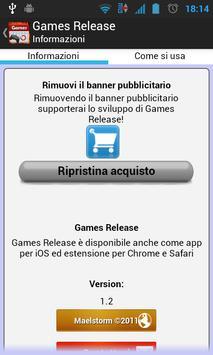Games Release Ekran Görüntüsü 3