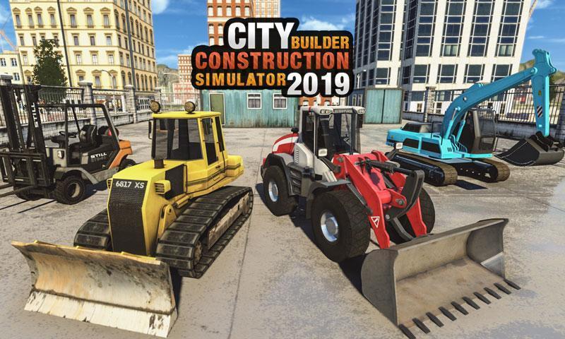 Construction Bulldozer Excavator Simulator 2019 for Android