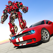 Muscle Car Robot Transformation Game 2018 icon