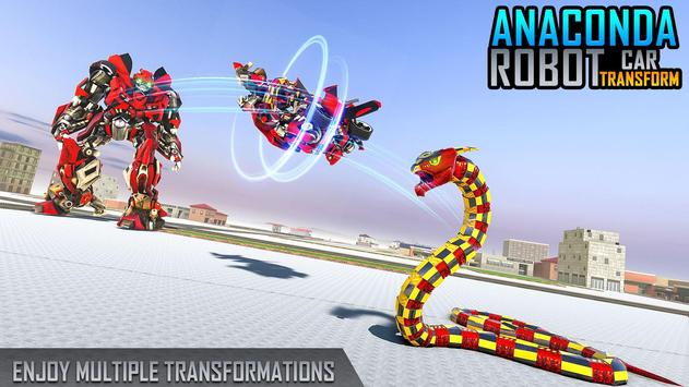 Anaconda Robot Car Games: Mega Robot Games screenshot 4