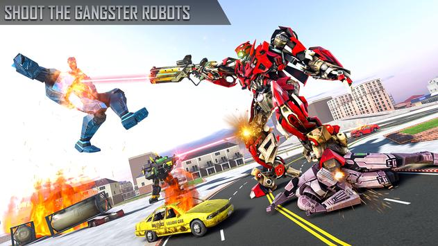 Anaconda Robot Car transform: war Robot Games screenshot 19