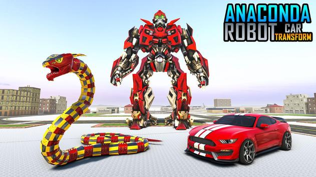 Anaconda Robot Car transform: war Robot Games screenshot 2