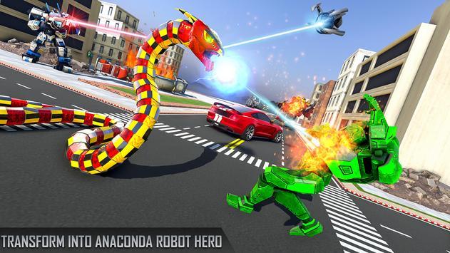 Anaconda Robot Car Games: Mega Robot Games screenshot 8