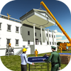 White House Building Construction Games 2019 icon