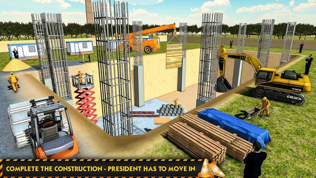 White House Building Construction Games 2019 screenshot 11