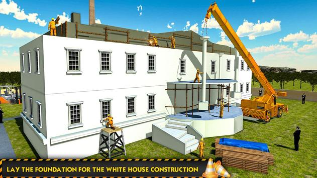 White House Building Construction Games 2019 screenshot 2