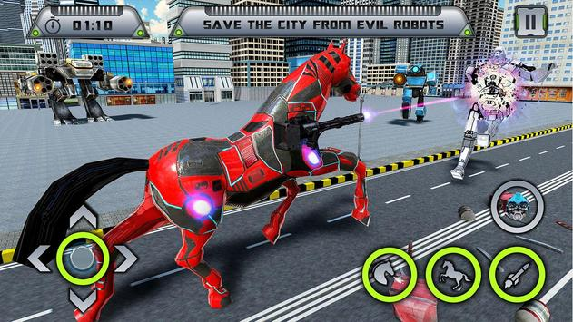 Future Robot War : Car Robot Transforming Games screenshot 3