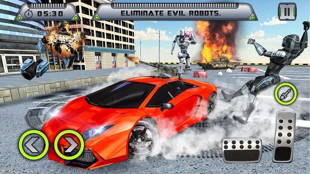 Future Robot War : Car Robot Transforming Games screenshot 1