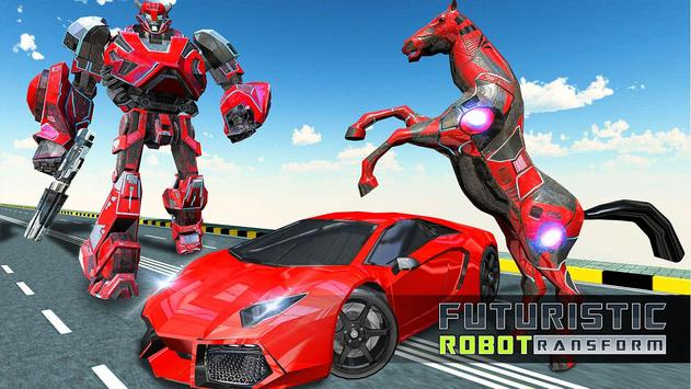 Future Robot War : Car Robot Transforming Games screenshot 9
