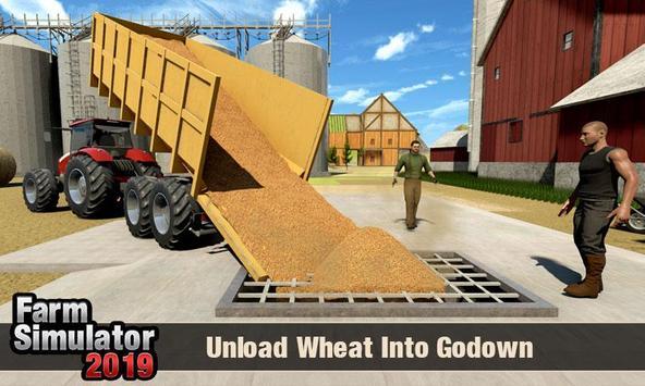 Real Tractor Driver Farm Simulator -Tractor Games screenshot 19