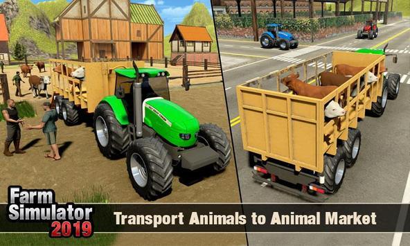 Real Tractor Driver Farm Simulator -Tractor Games screenshot 5
