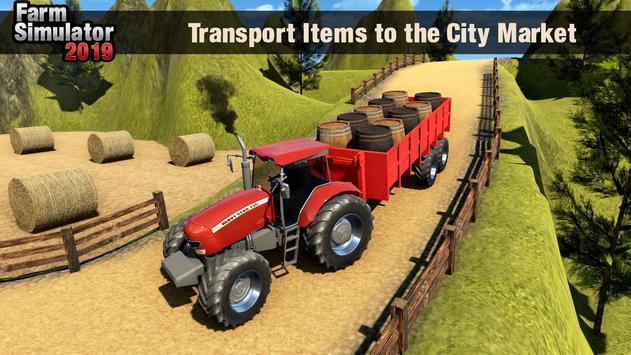 Real Tractor Driver Farm Simulator -Tractor Games screenshot 4