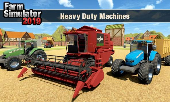 Real Tractor Driver Farm Simulator -Tractor Games screenshot 6