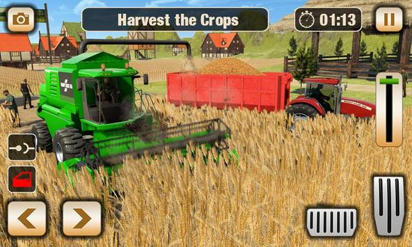 Real Tractor Driver Farm Simulator -Tractor Games screenshot 10