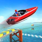 Water Surfer Speed Boat Stunts: Racing Games APK