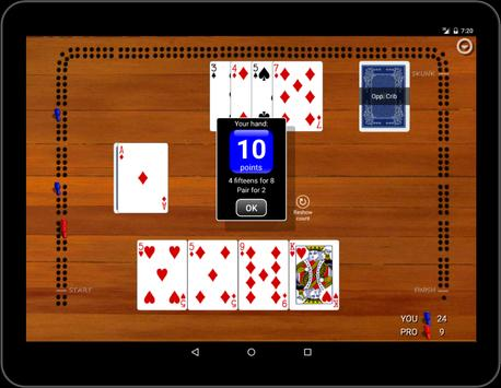 Cribbage Classic screenshot 10