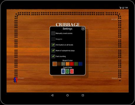 Cribbage Classic screenshot 11