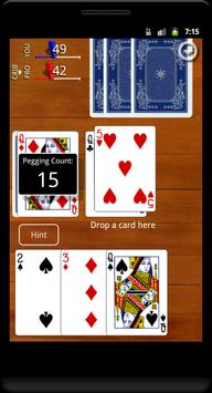 Cribbage Classic screenshot 1