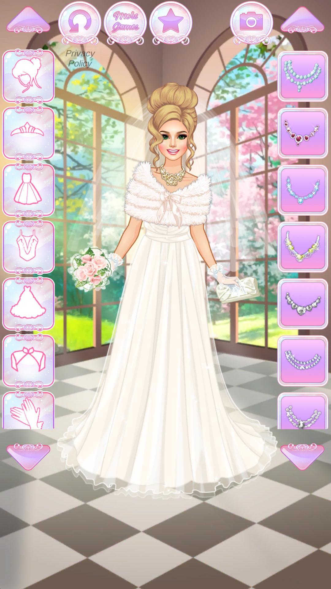 Одевалка невесты и подружек невесты
