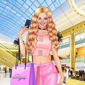 女富豪的瘋狂購物 - 時尚遊戲 圖標
