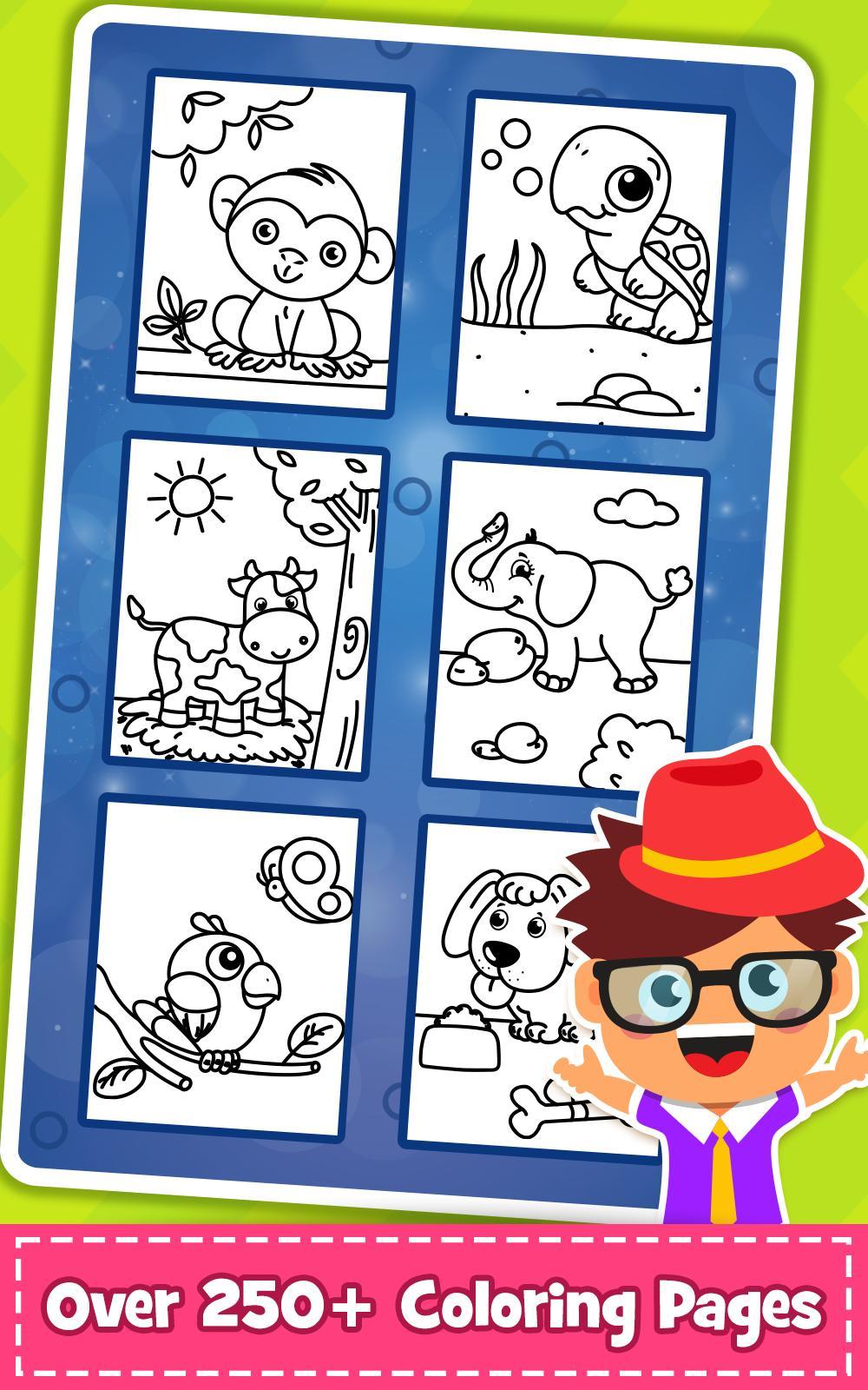 Malvorlagen: PreSchool Malbuch für Kinder. für Android - APK ...