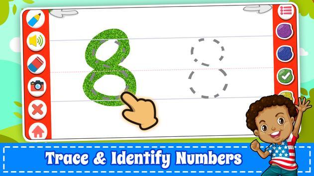 為孩子們學習數字 -  123計數遊戲 截圖 3