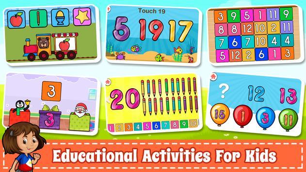 為孩子們學習數字 -  123計數遊戲 截圖 8
