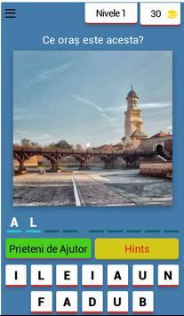 Ghiceste orașul din România poster