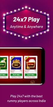 Play Rummy Online, Free Rummy Game, 13 Card Indian screenshot 3