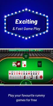 Play Rummy Online, Free Rummy Game, 13 Card Indian screenshot 1