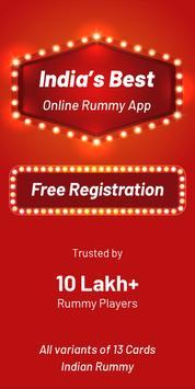Play Rummy Online, Free Rummy Game, 13 Card Indian screenshot 4