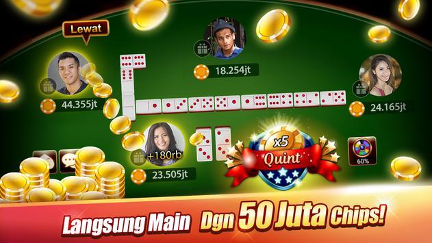 Domino : LUXY Domino & Poker - Gaple QiuQiu Remi for ...