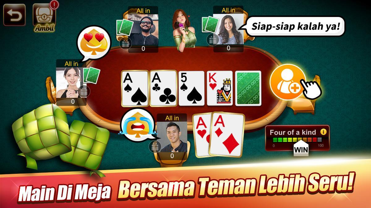 LUXY : Domino & Poker - Gaple QiuQiu QQ 99 for Android ...