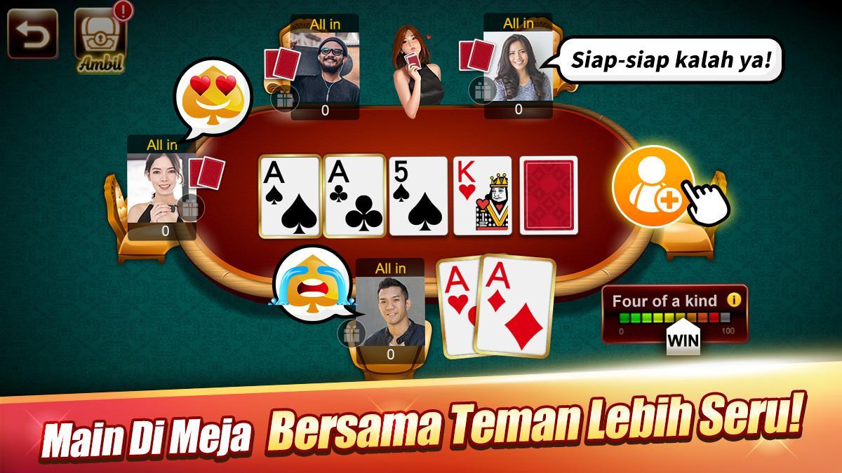 Domino Luxy Domino Poker Gaple Qiuqiu Remi For Android Apk Download