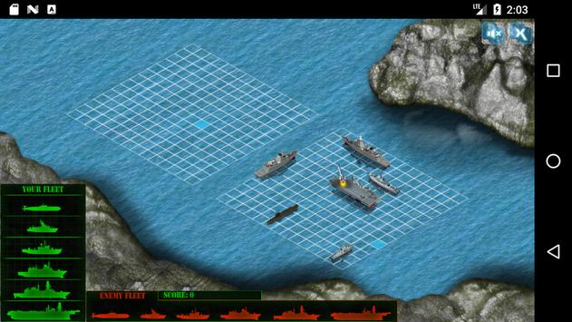 Battleship War screenshot 1