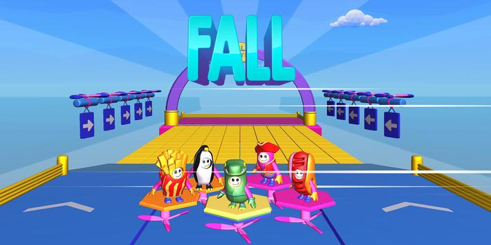 Fall Guys & Fall Girls Knockdown Multiplayer poster