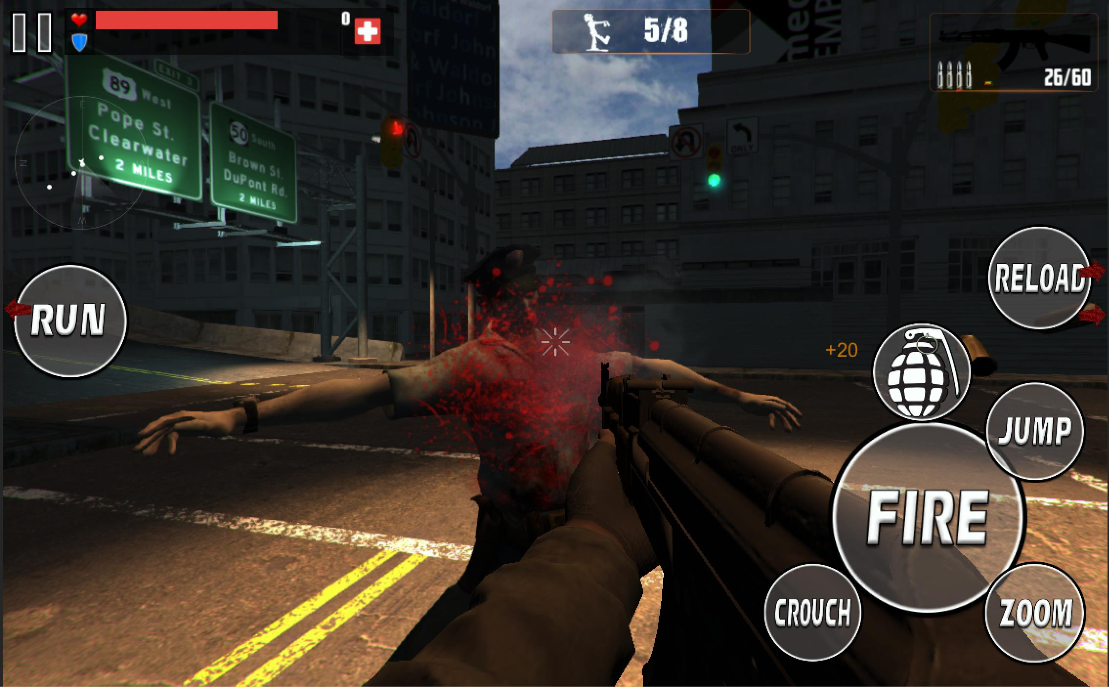 Commando Zombie Highway Game 2 for Android - APK Download