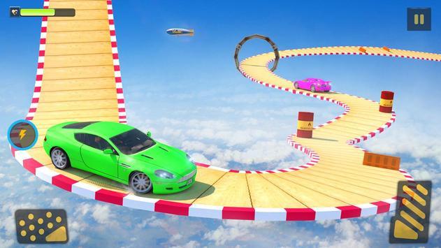 Ramp Car Stunts Racing: Impossible Tracks 3D screenshot 2