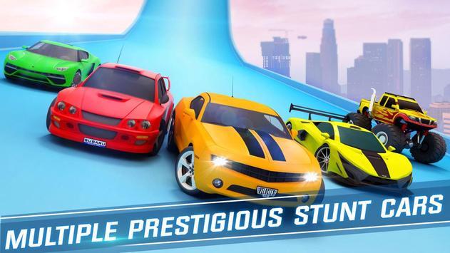 Ramp Car Stunts Racing: Impossible Tracks 3D screenshot 4